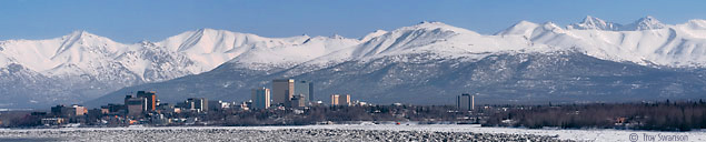 Anchorage winter pano, copyright Troy Swanson