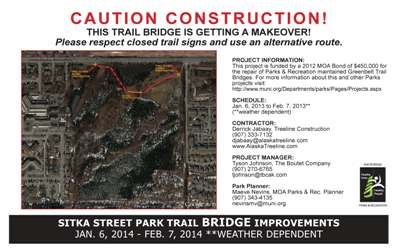 Sitka Park Bridge Project Information (PDF)
