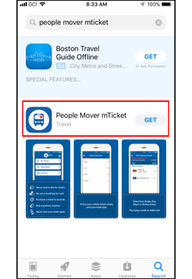 Mobile Ticketing App Download