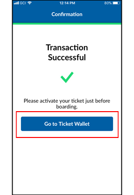 Mobile App Ticket Wallet Image